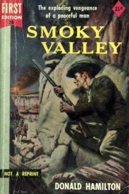 Dell Books - Smoky Valley - Donald Hamilton