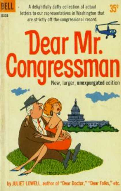 Dell Books - Dear Mr. Congressman