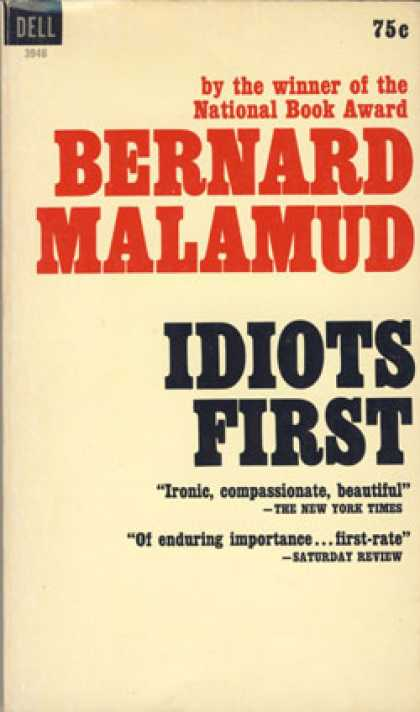 Dell Books - Idiots First - Bernard Malamud