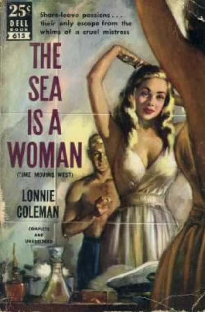 Dell Books - The Sea Is a Woman