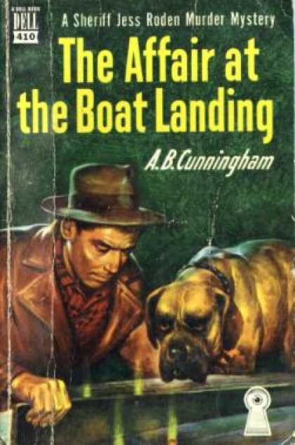 Dell Books - The Affair at the Boat Landing - A. B. Cunningham