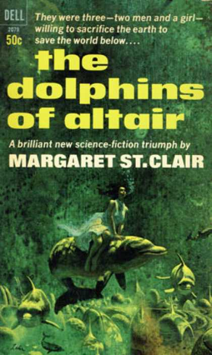 Dell Books - The Dolphins of Altair - Dell 2079