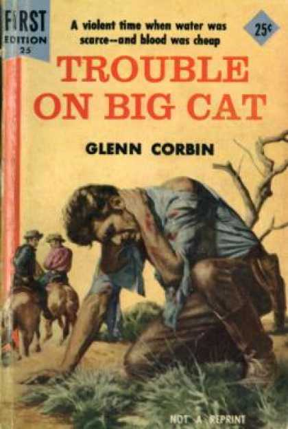 Dell Books - Trouble On Big Cat - Glenn Corbin
