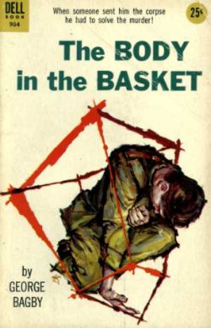 Dell Books - The Body In the Basket - George Bagby
