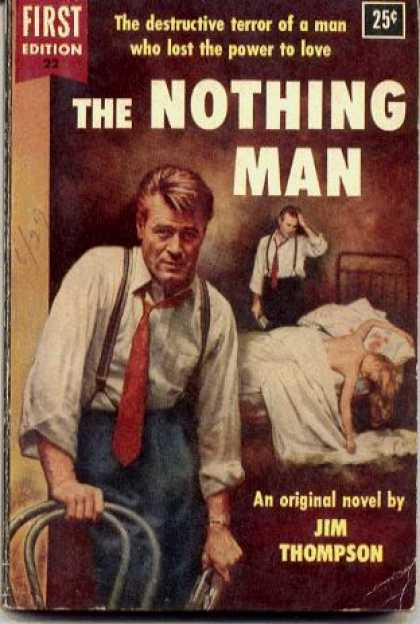 Dell Books - The Nothing Man - Jim Thompson