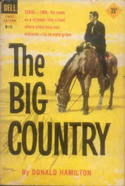 Dell Books - The Big Country