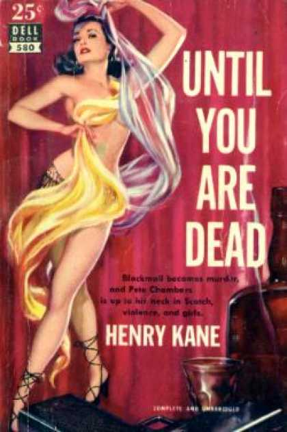 Dell Books - Until You Are Dead - Henry Kane