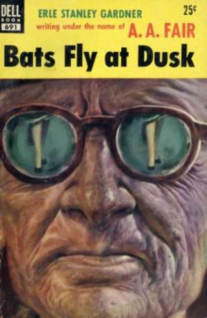 Dell Books - Bats Fly at Dusk