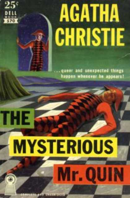 Dell Books - The Mysterious Mr. Quin