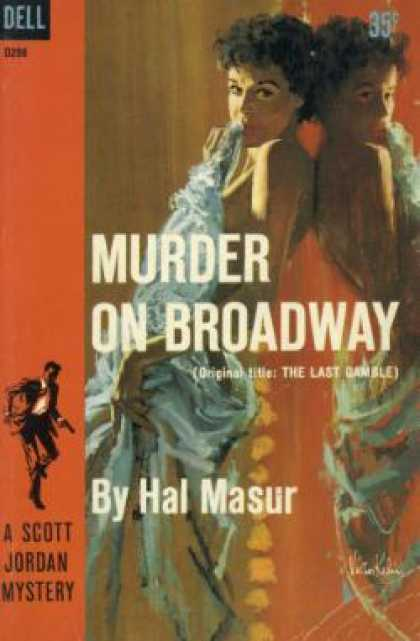 Dell Books - Murder On Broadway