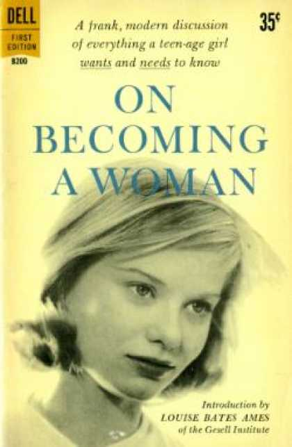 Dell Books - On Becoming a Woman