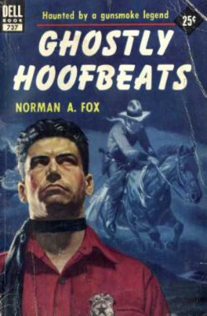 Dell Books - Ghostly Hoofbeats - Norman a Fox
