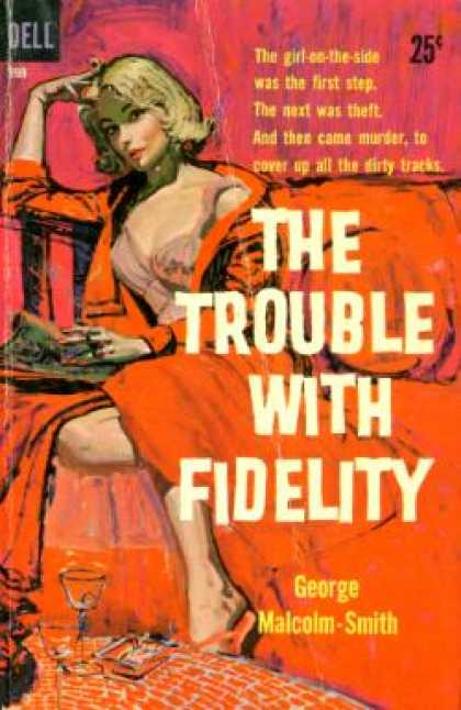Dell Books - The Trouble With Fidelity - George Malcolm-smith
