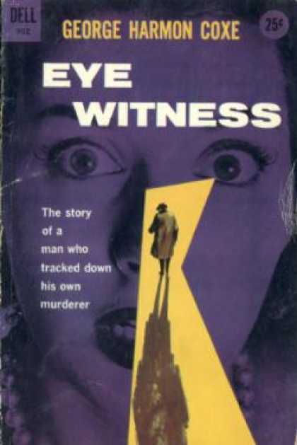 Dell Books - Eye Witness - George Harmon Coxe