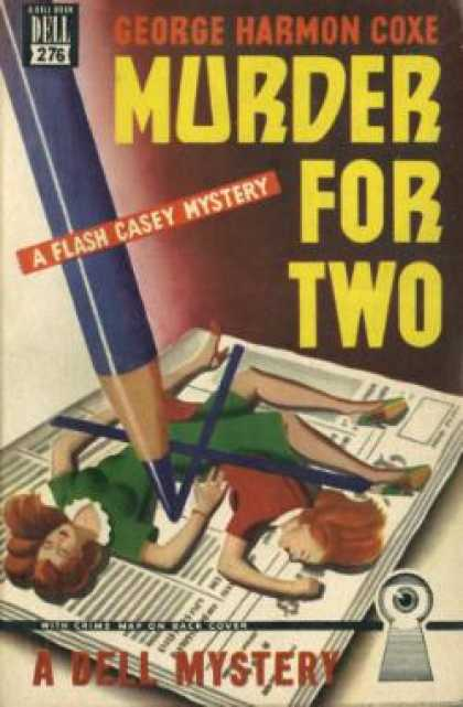 Dell Books - Murder for Two