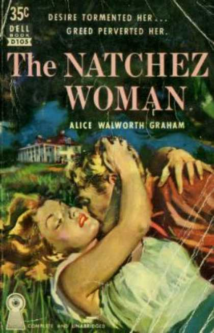 Dell Books - The Natchez Woman - Alice Walworth Graham