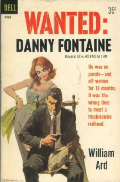 Dell Books - Wanted: Danny Fontaine - William Ard