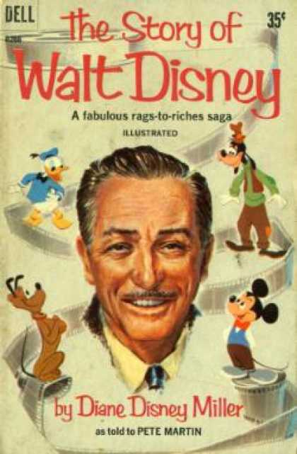 Dell Books - The Story of Walt Disney - Diane Disney Miller