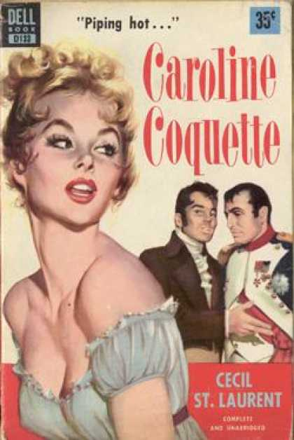Dell Books - Caroline Coquette - Cecil St. Laurent