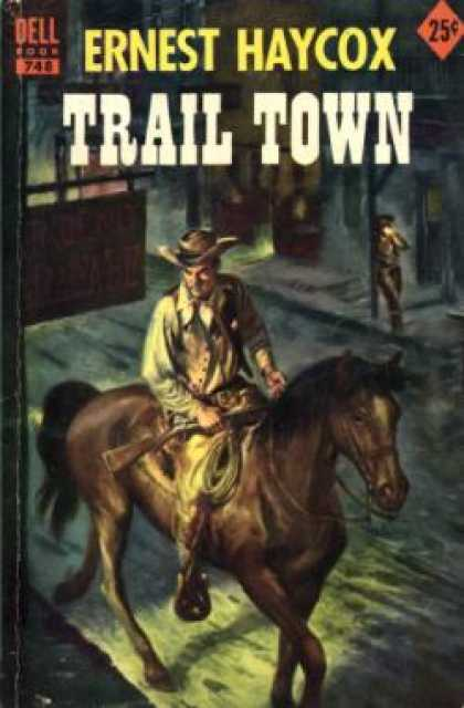 Dell Books - Trail Town - Ernest Haycox