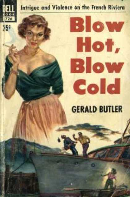 Dell Books - Blow Hot, Blow Cold - Gerald Butler
