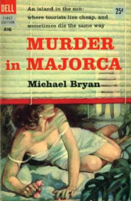 Dell Books - Murder In Majorca - Michael Bryan