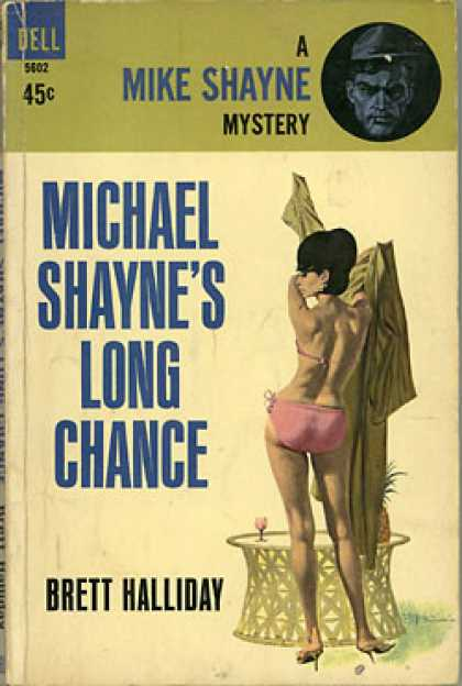 Dell Books - Michael Shayne's Long Chance - Brett Halliday