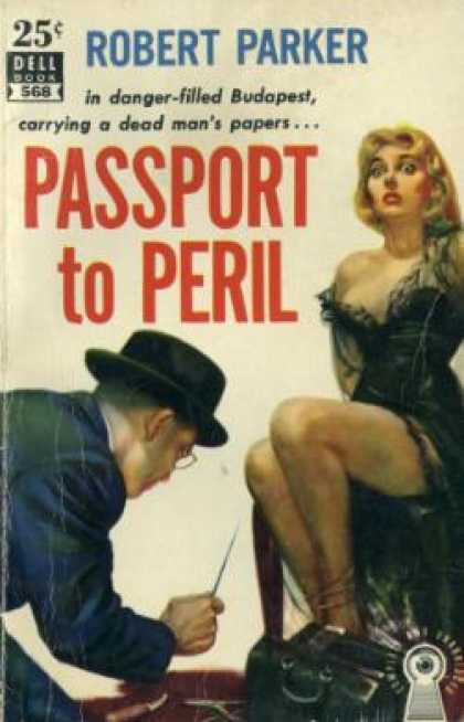 Dell Books - Passport To Peril - Robert Parker
