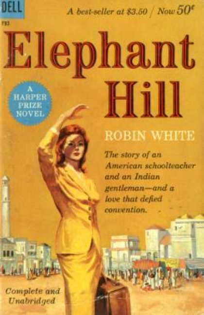 Dell Books - Elephant Hill - White Robin