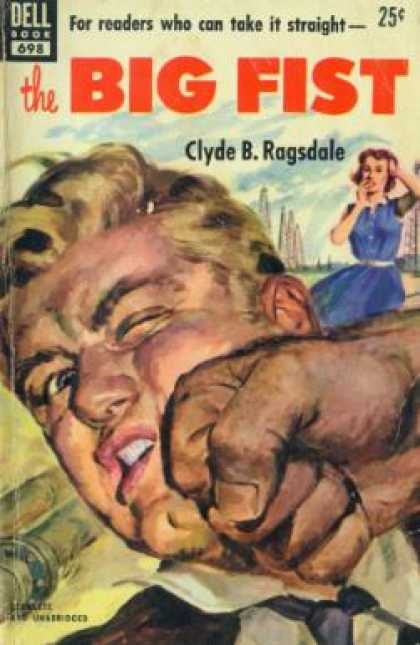 Dell Books - The Big Fist - Clyde B. Ragsdale