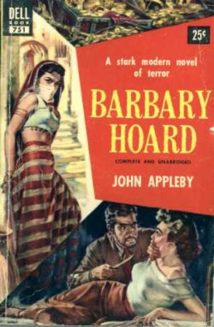 Dell Books - Barbary Hoard - John Appleby