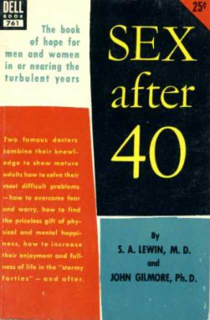 Dell Books - Sex After 40 - S. a Lewin