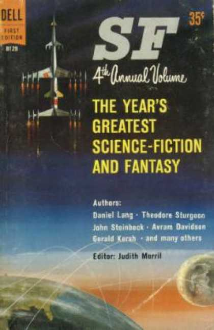 Dell Books - The Year's Greatest Science-fiction and Fantasy - Judith Merril