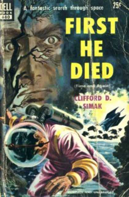 Dell Books - First He Died - Clifford D. Simak