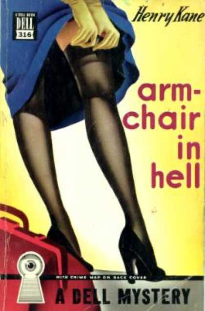 Dell Books - Armchair In Hell - Henry Kane
