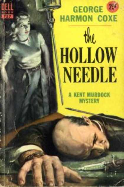 Dell Books - The Hollow Needle - George Harmon Coxe