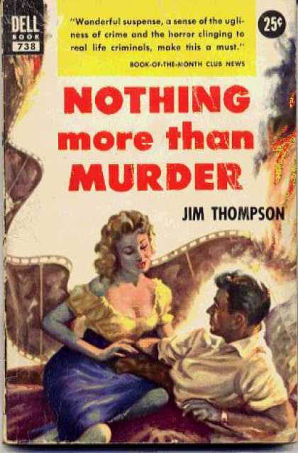 Dell Books - Nothing More Than Murder - Jim Thompson