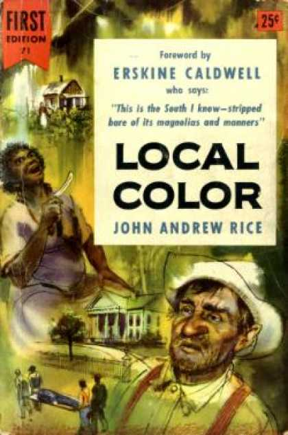 Dell Books - Local Color - John Andrew Rice