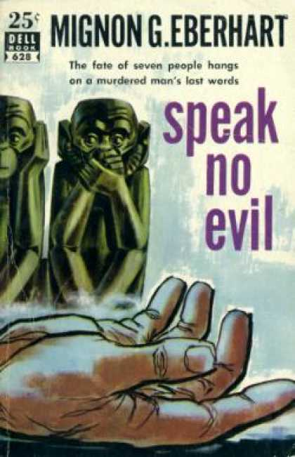 Dell Books - Speak No Evil - Mignon G. Eberhart