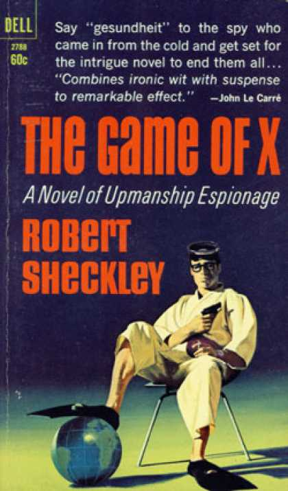 Dell Books - The Game of X - Robert Sheckley