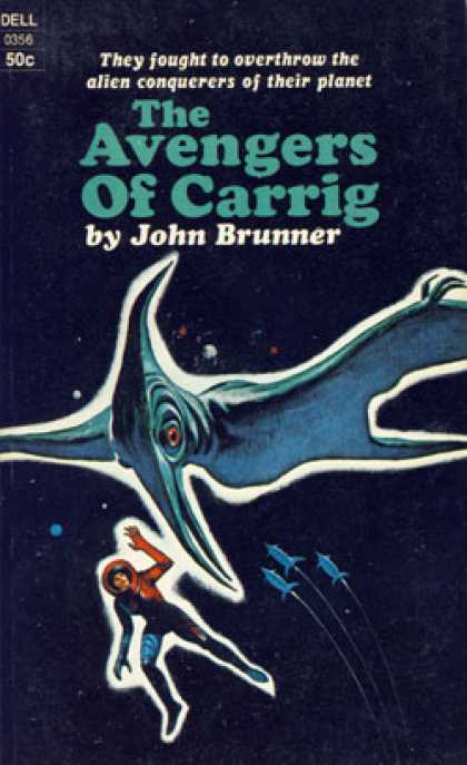 Dell Books - The Avengers of Carrig - John Brunner