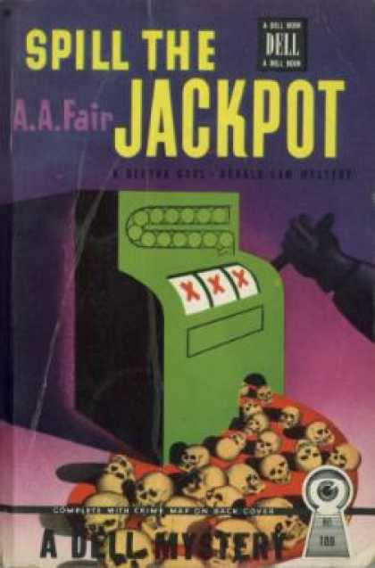 Dell Books - Spill the Jackpot - A.a. Fair