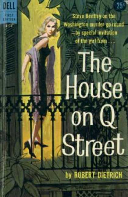 Dell Books - The House On Q Street - Robert Dietrich
