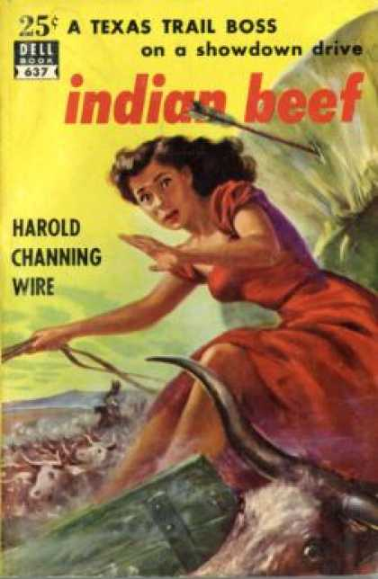 Dell Books - Indian Beef - Harold Channing Wire