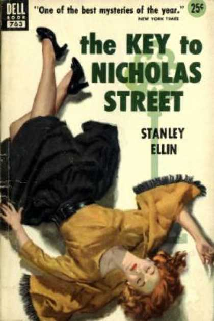 Dell Books - The Key To Nicholas Street - Stanley Ellin