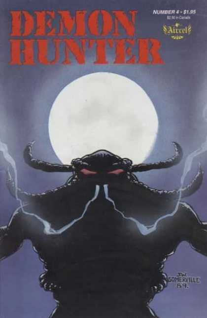 Demon Hunter 4 - Number 4 - Full Moon - Fangs - Beast - Somerville