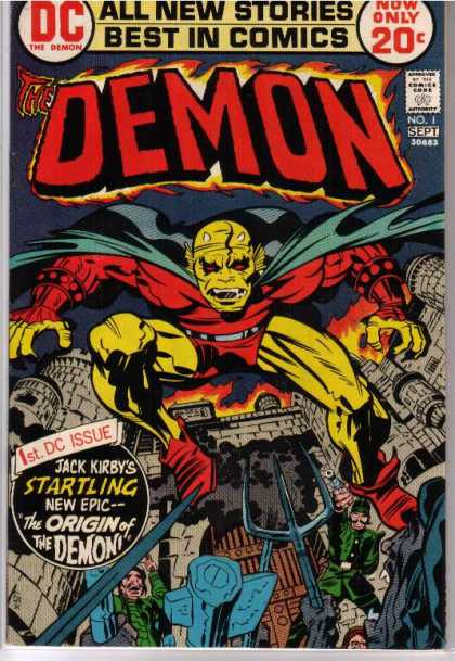 Demon 1 - Denis Rodier, Jack Kirby