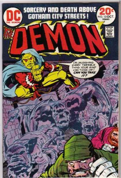 Demon 13 - Denis Rodier, Jack Kirby