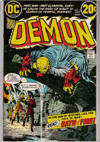 Demon 2 - Dc Comics - Bath Of Fire - Sword - Cloak - Red Armour - Denis Rodier, Jack Kirby