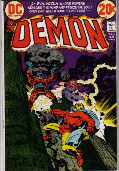 Demon 5 - Jack Kirby